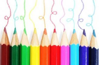 Murales Lápices Colores