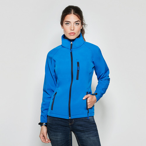 Ropa Chaqueta Shoft Shell Antártida Mujer Roly